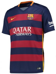 Barcelona shirtje gekocht bij voetbalshirtskoning.nl